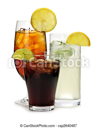 Soft drinks - csp2640487