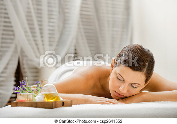 Woman in Spa - csp2641552