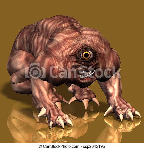 Creature of the night #01 - csp2642195