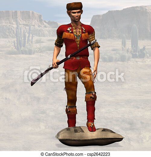 Mountain Man #02 - csp2642223
