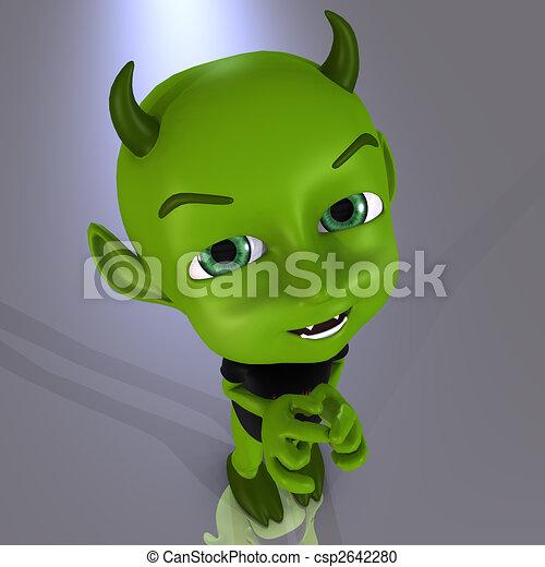 Little Devil #08 - csp2642280