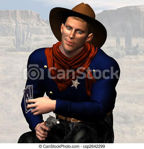 Sheriff #03 - csp2642299