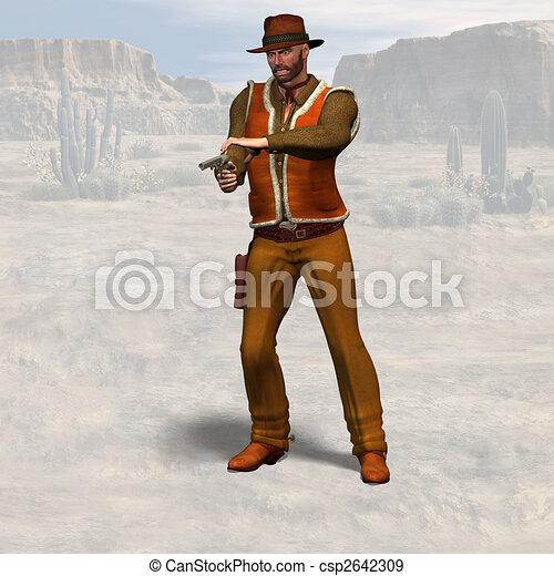 Cowboy #09 - csp2642309