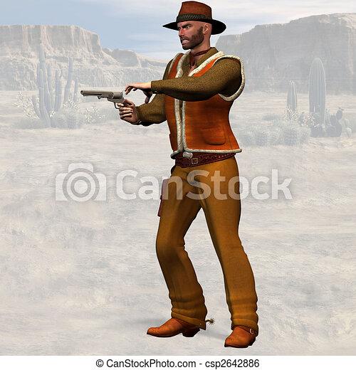 Bad Cowboy - csp2642886