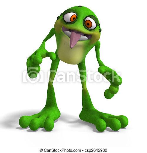 Crazy Toad - csp2642982