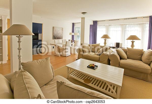 Living room  - csp2643053