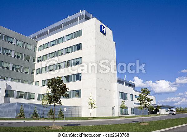 Modern Hospital - csp2643768