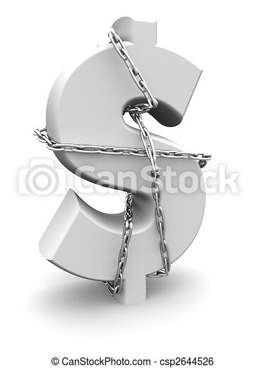 Money secure concept - csp2644526