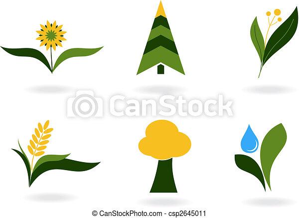 Plant icons - csp2645011