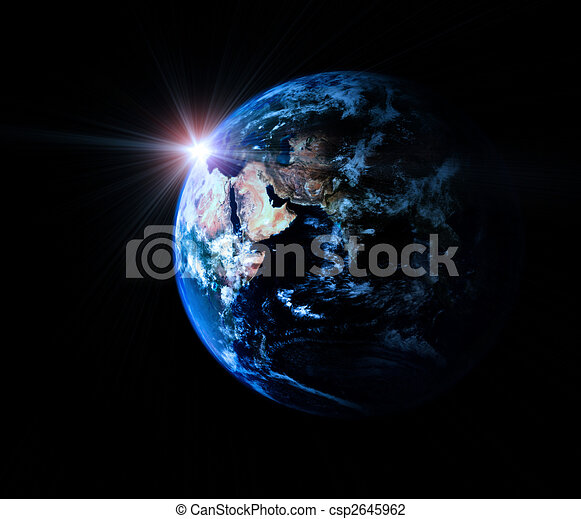 Earth in universe - csp2645962