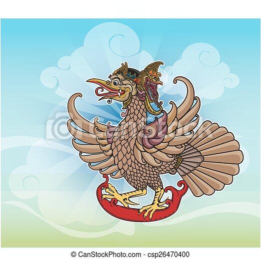 Puppet character 'Jatayu' or Eagle - csp26470400