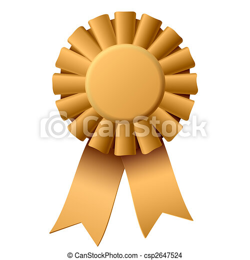 Award ribbon - csp2647524