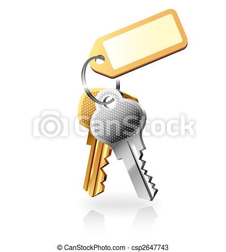 Bunch of keys - csp2647743