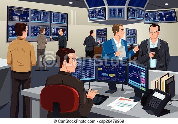 Stock Trader Clip Art