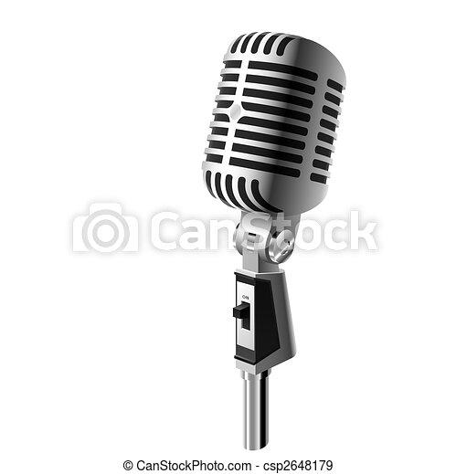 Classic microphone - csp2648179