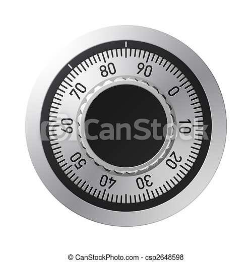 Combination lock - csp2648598