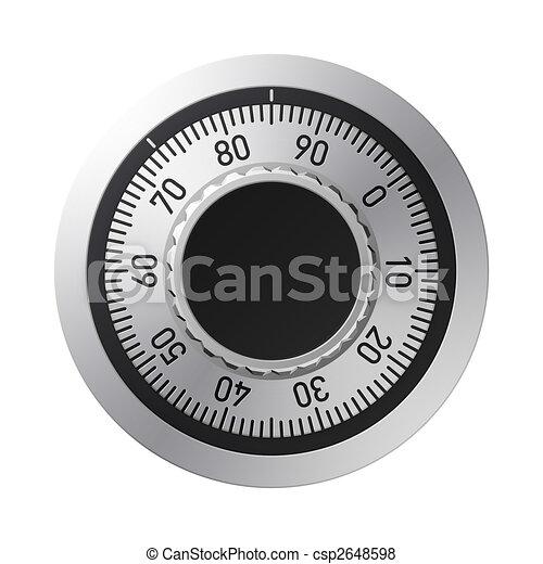 Combination lock - csp2648598