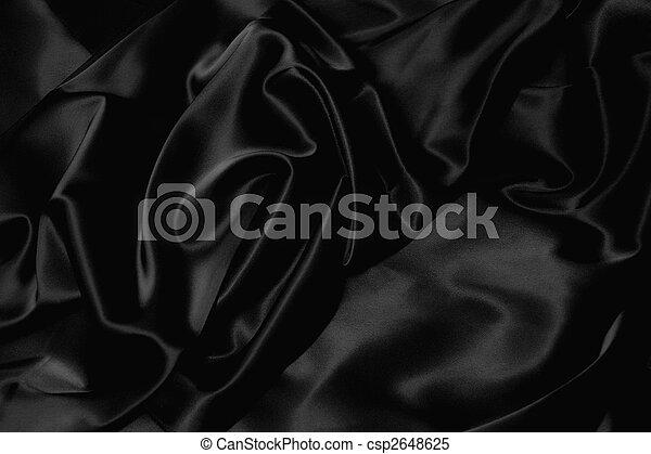 black silk - csp2648625