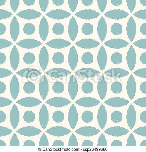 seamless geometric mesh pattern - csp26499666