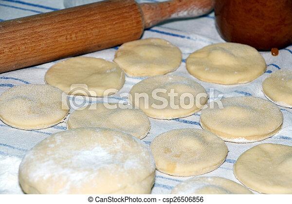 Preparing donuts - csp26506856