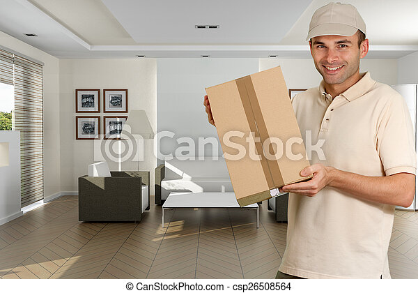 Home delivery - csp26508564