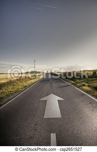 Direction concept - csp2651527