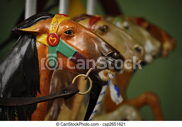 Closeup of merry-go-round - csp2651621