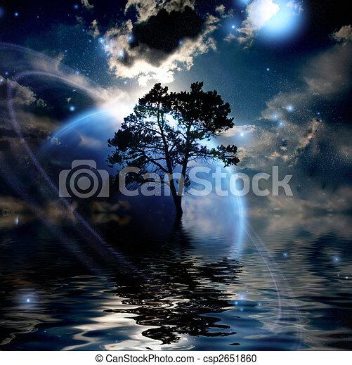 Alien Landscape - csp2651860