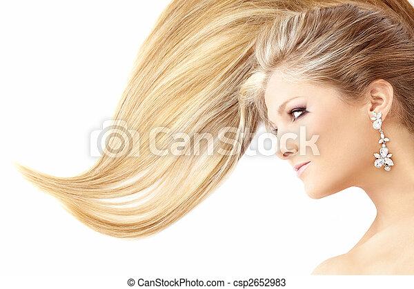 Charming hairdress - csp2652983