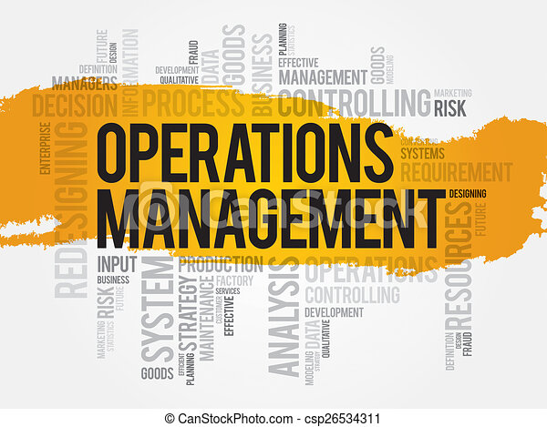 Operations Manager Clipart Operations Management