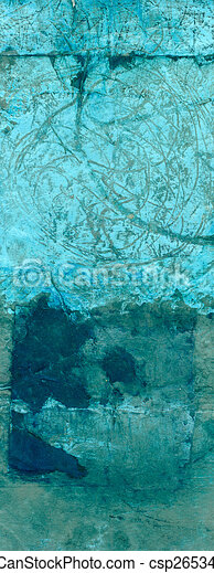 Abstract Cyan and Blue - csp2653444