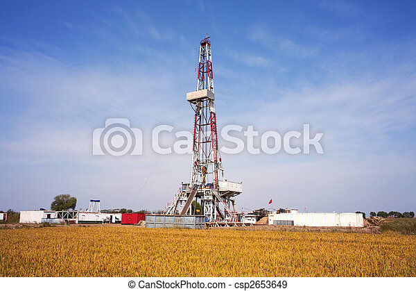 Land drilling rig  - csp2653649