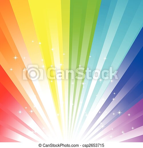 Rainbow background - csp2653715