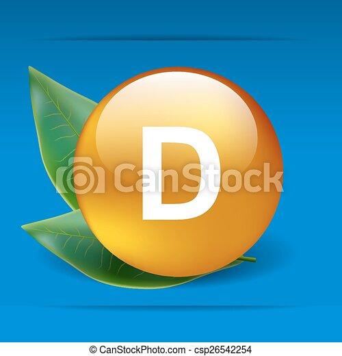 Vitamin D - csp26542254