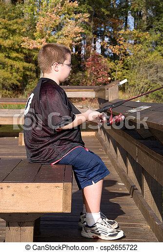 Fishing Boy - csp2655722