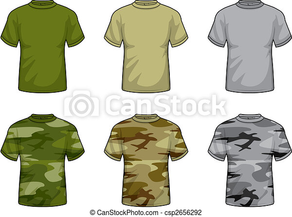 Camouflage Shirts - csp2656292