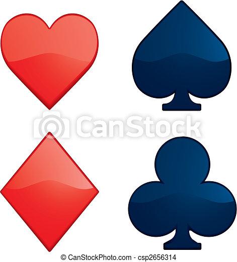 Card Suits - csp2656314