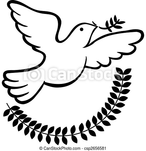 Peace dove Vector Clipart EPS Images. 4,346 Peace dove clip art ...