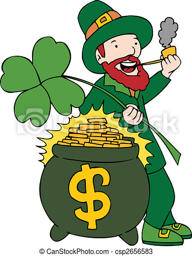 Bearded Leprechaun - csp2656583