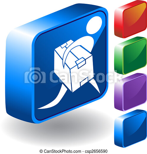 Package Delivery 3D Icon - csp2656590