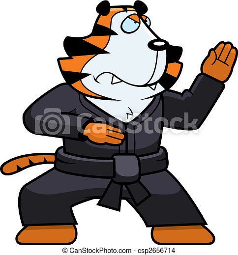 Karate Tiger - csp2656714