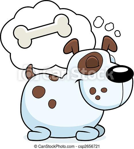 Dog Dreaming - csp2656721