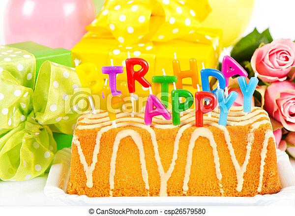 happy birthday. card concept