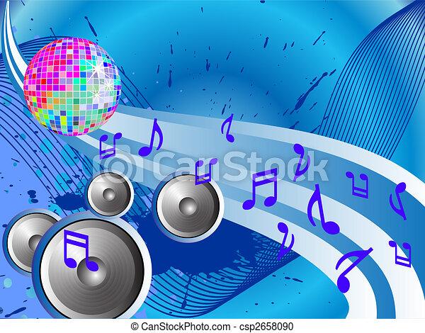 disco background - csp2658090