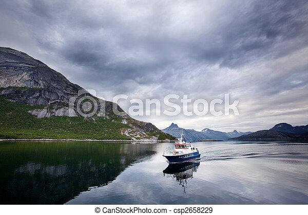 Ferry Norway - csp2658229