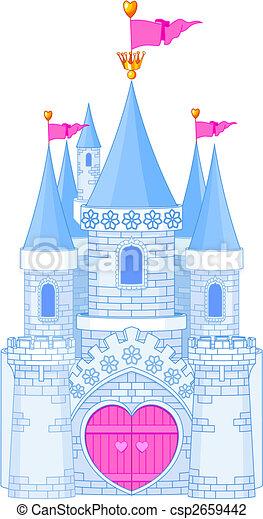 Romantic Castle - csp2659442