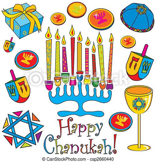 Happy Chanuka! - csp2660440