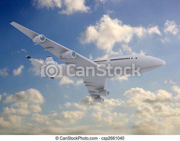3d plane - csp2661040