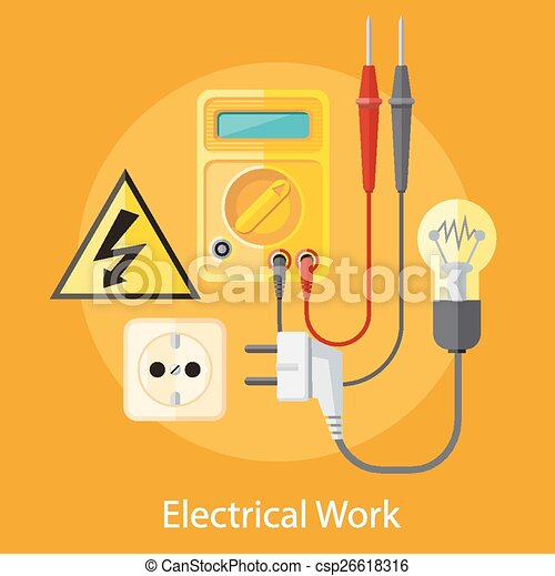 electricians at work clip art - photo #30