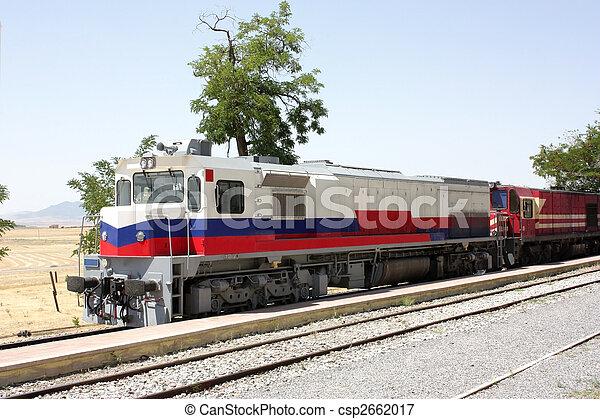 Diesel locomotives - csp2662017